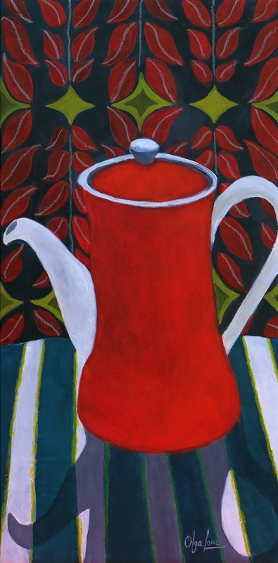 Let Me Be Your Tea Pot by artist OLGA LORA