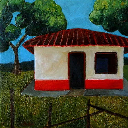 Little House at The Cordillera by artist Olga Lora