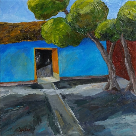 Old House at The Valley by artist Olga Lora
