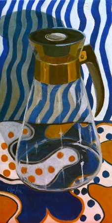 Remembering My Grandma's Coffee Carafe by artist Olga Lora