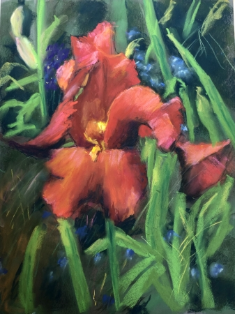 Giverny Glory III by artist Janis Langley
