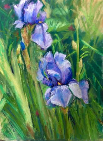 Giverny Glory II by artist Janis Langley