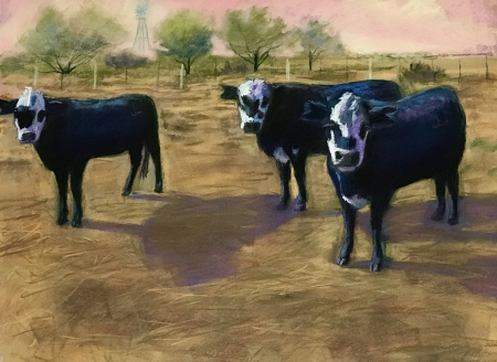 West Texas Trio by artist Janis Langley