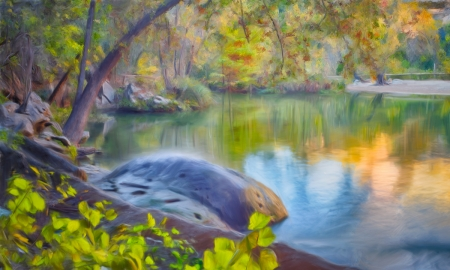 Secluded by artist Derris Lanier