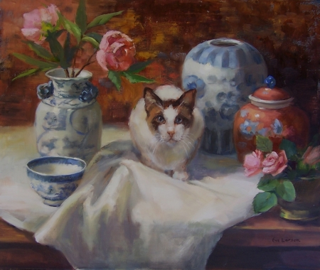 Leo and the Porcelain by artist Eve  Larson