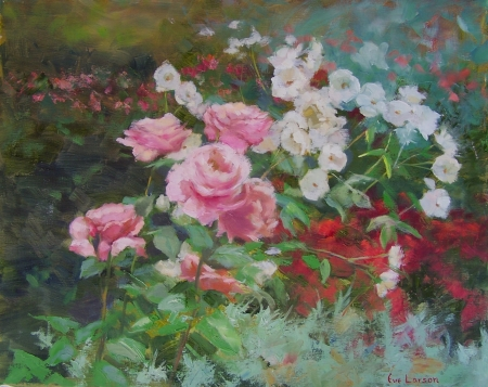 Rose Garden by artist Eve Larson