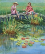 Young Plein Air Painters by artist Eve Larson