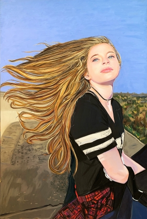 Windswept by artist Wendy Layne