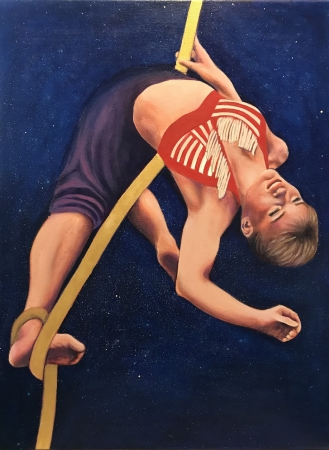Aerialist Dreaming by artist Janus Lee