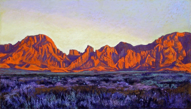 Big Bend Memory by artist Nancy Lilly