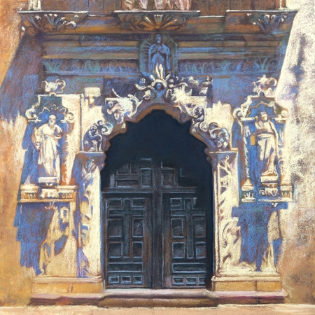 Mission San Jose Doors by artist Nancy Lilly