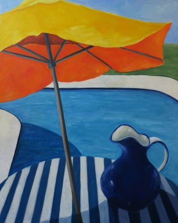 Refreshing Summer Day by artist Olga Lora
