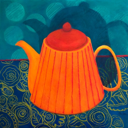 Where There Is Tea There Is A Lot of Hope by artist Olga Lora