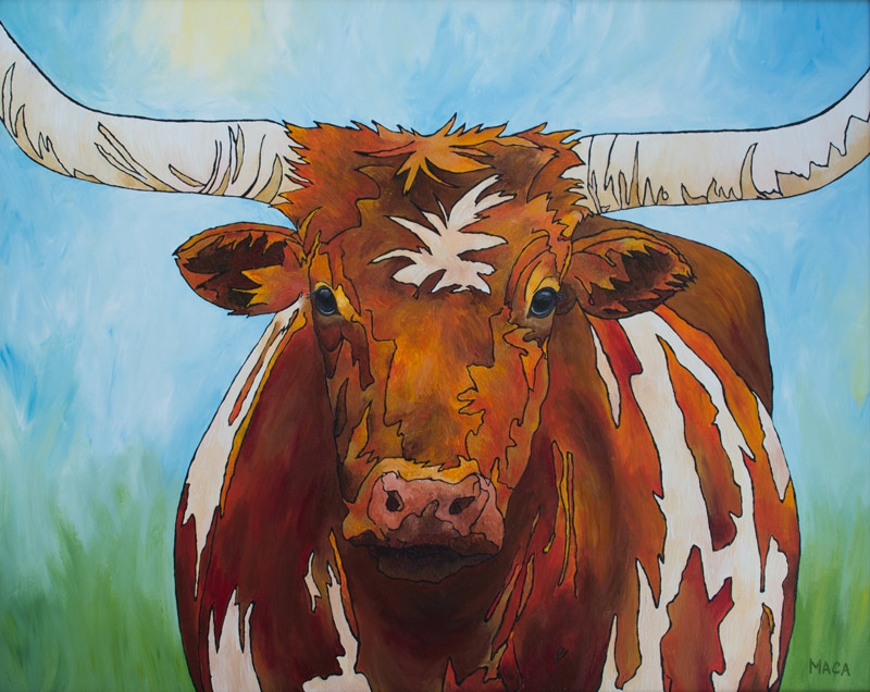 WELCOME TO TEXAS by artist Robin Maca