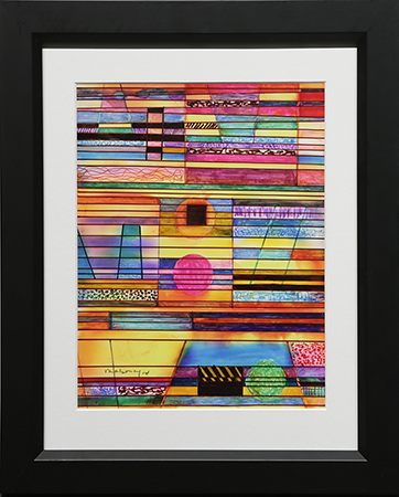 Color Frequencies by artist Michael Mahoney