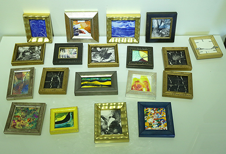 Variety of Small Paintings by artist Michael Mahoney