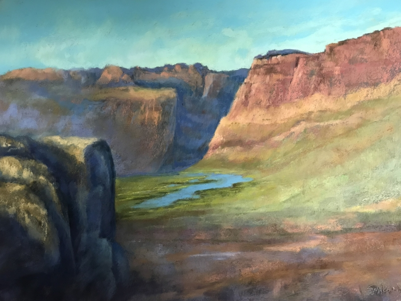 Canyonlands by artist Suzanne Malesovas
