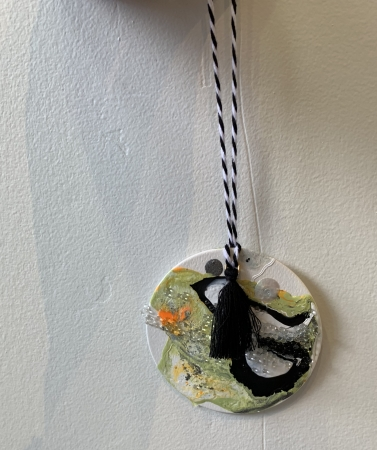 ornament by artist Maria Martin
