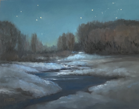 Starry Interlude by artist Deb Mason