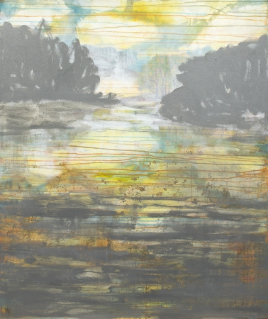 Clouds on Water II by artist Melissa Wen Mitchell-Kotzev