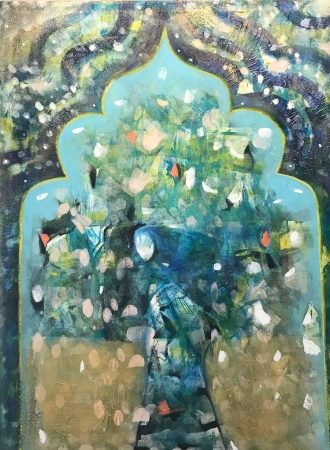 Love of the Same God by artist Melissa Wen Mitchell-Kotzev