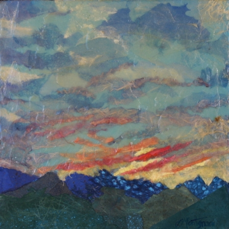 Hill Country Sunset by artist Linda Montignani