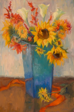 Bouquet of Sunshine by artist Bunny Oliver
