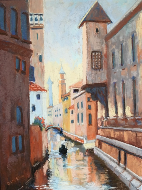 Memories of Venice by artist Mary Olivera