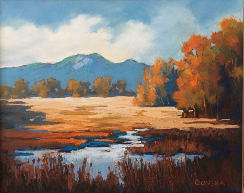 Wetlands Fall by artist Mary Olivera