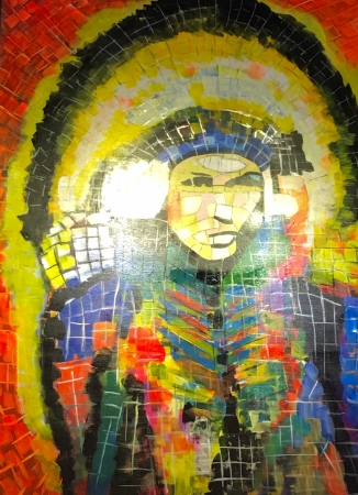 Hail the Chief! by artist Lenora Palacios