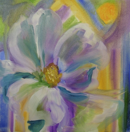 Softness Blooming by artist Nancy Paton