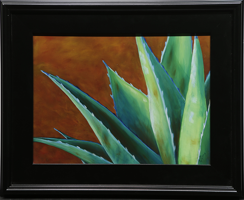 Suede Thorns by artist Nancy  Paton