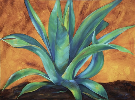 Tequila Sunset by artist Nancy Paton