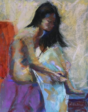 After the Bath by artist Debbi Perkins