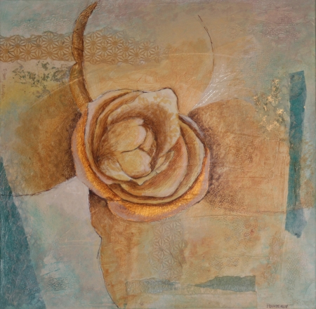 Copper Blossoming by artist Jan Pomeroy