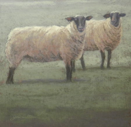 Sister Sheep by artist Jeri Salter