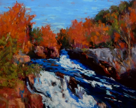 Great Falls by artist Joycelyn Schedler