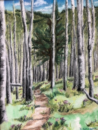 The Forest Trail by artist Denise Schneyer