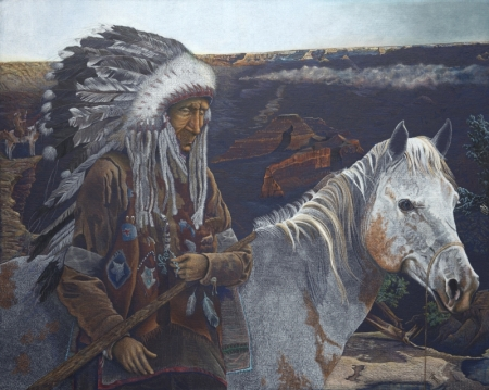 Chiefs Final Journey by artist Gaylon F. Stagner