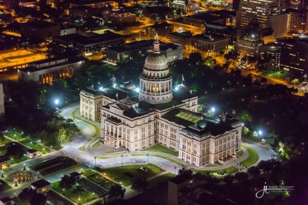 Austin State Capitol  by artist Jared  Tennant