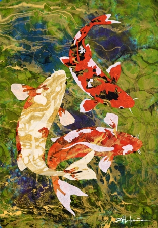 Being Koi by artist Marcy Ann Villafana