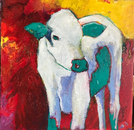 LITTLE CALF by artist DENA WENMOHS
