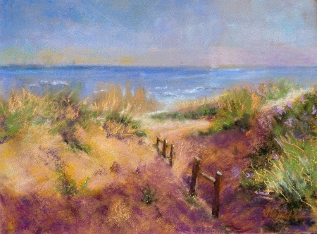 Sunset Dunes by artist Valerie Walden