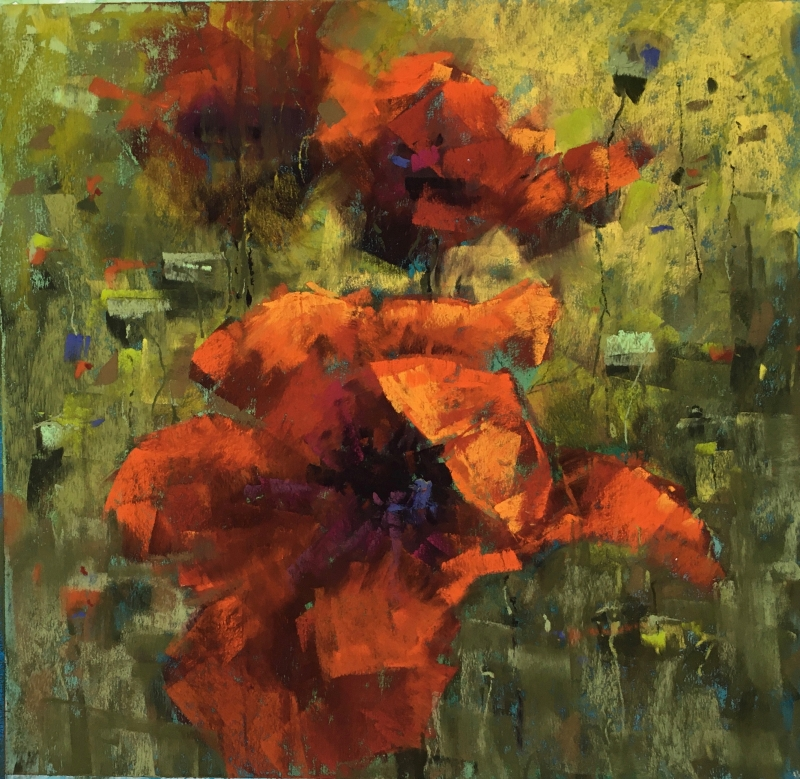 Poppies of the Field by artist Jan Weaver