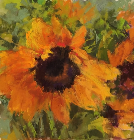 Sunflower by artist Jan Weaver