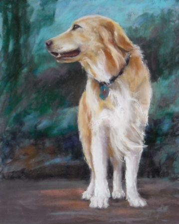 Golden Girl by artist Linda Wells
