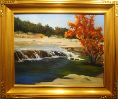 Fall on Bull Creek by artist Ellen Wheelock Willis