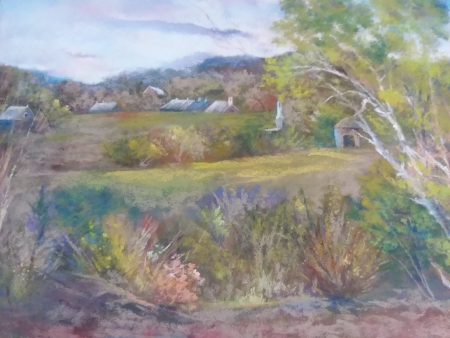 Spring in New England by artist Marcia Wise