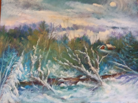 Winter Solstice by artist Marcia Wise