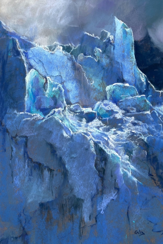 Glacial by artist Enid Wood